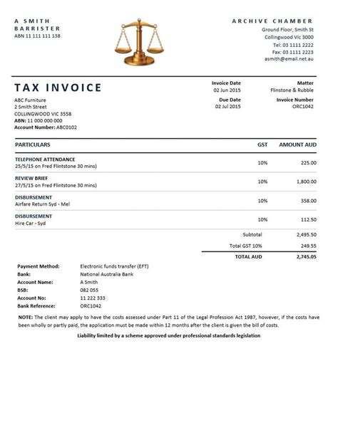 sample invoice law firm | resume for job outside of field, Invoice templates
