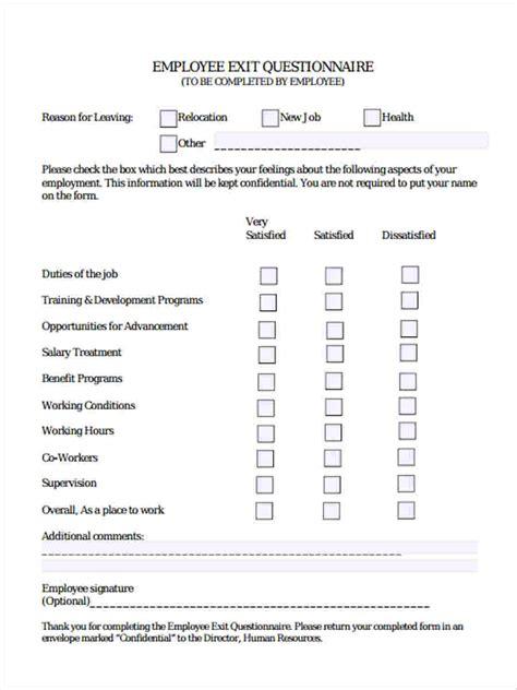 job application questionnaire sample