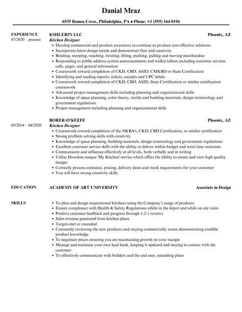 sample kitchen designer resume flasher resume template green