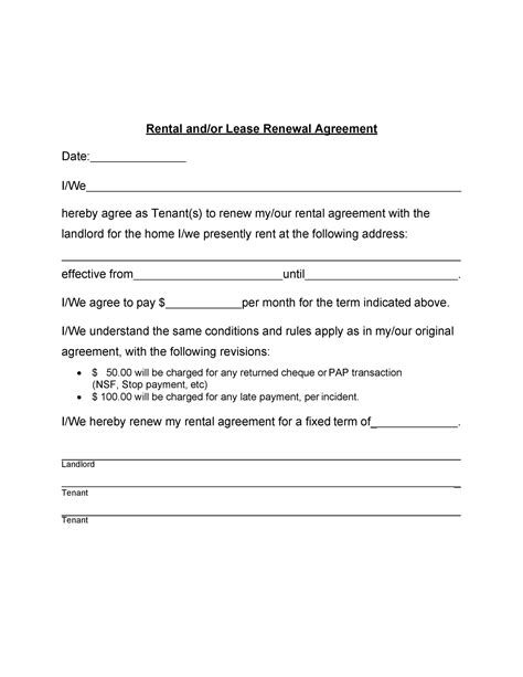 letter of contract non renewal sample lease renewal letter basic generic template