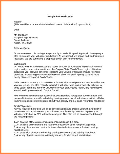 sample letter of business proposal letter sample business proposal letter deiric mccann