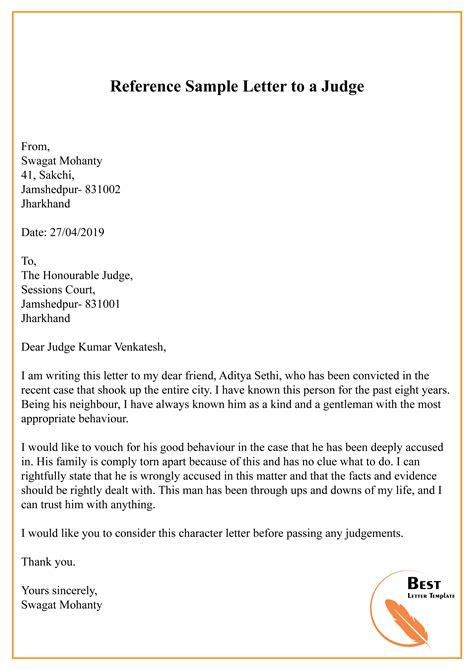 letter to judge traffic school sample letter to a judge free sample letters