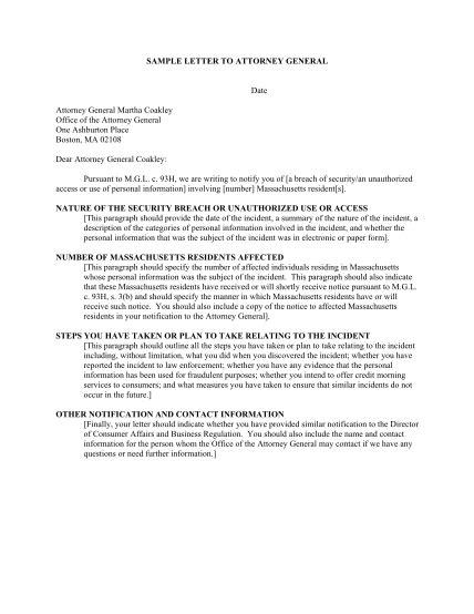 Dissolution letter sample resume examples summary dissolution letter sample sample letter to attorney general massgov spiritdancerdesigns Images
