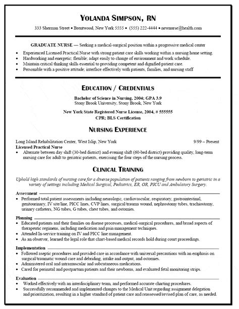 sample nurse resume new grad graduate nurse resume samples best sample resume - Resume For Graduate Nurse