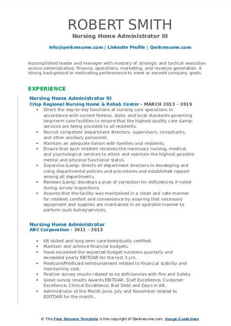 Stunning Care Home Managers Resume Gallery - Best Resume Examples by ...