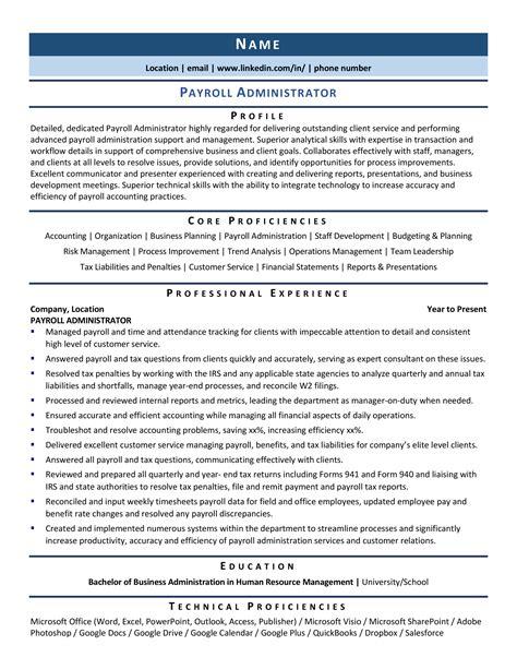 payroll administrator resume objective payroll administrator resume sample one hr resume. Resume Example. Resume CV Cover Letter