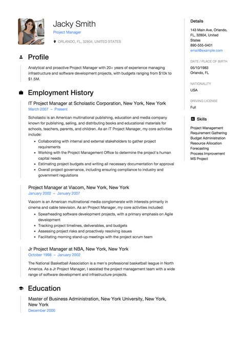 Sample Project Manager Resume Healthcare Project Manager Resume Sample Ready For You Uvisor
