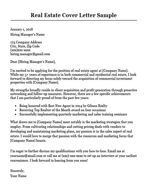 sample property manager resume cover letter resume cover letter examples get free sample cover letters - Sample Property Manager Resume