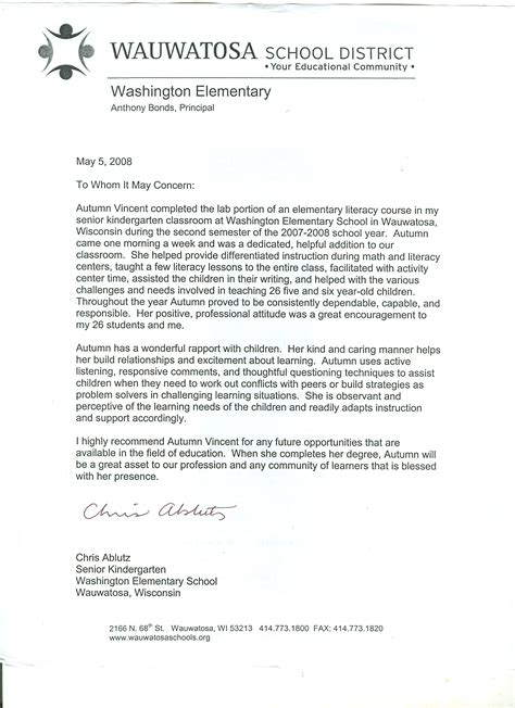 Sample Reference Letter By Teacher Sample Teacher Reference Letter Sample Letters