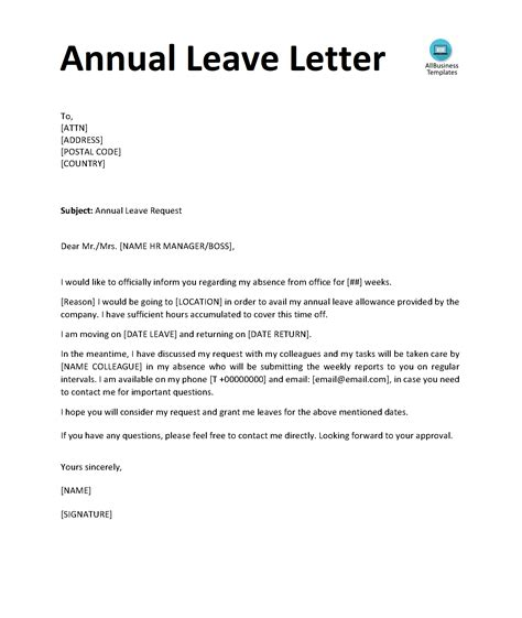 Request letter for holiday leave thecheapjerseys Choice Image