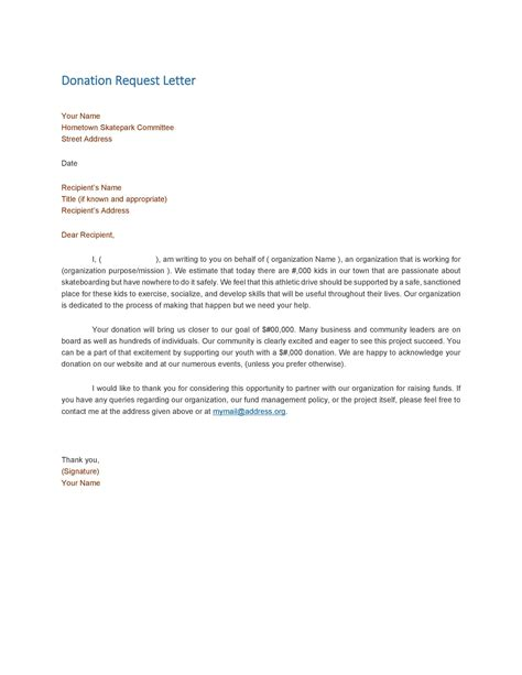 sample request letter for school repair sample fundraising letter request for a raffle prize - Fundraiser Cover Letter