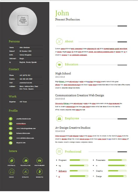 Sample Resume Uchicago 21 Outline Templates Free Sample Example Format