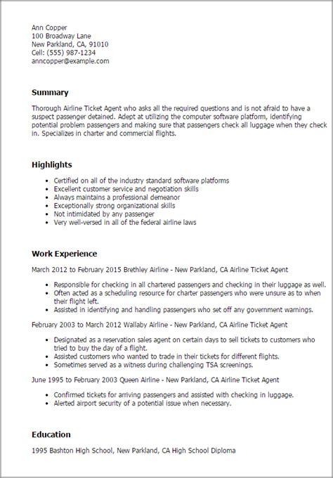 sample resume for travel agent airline ticketing agent resume example best sample resume - Travel Agent Resume Sample