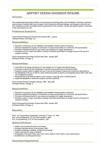airport engineer cover letter - Etame.mibawa.co