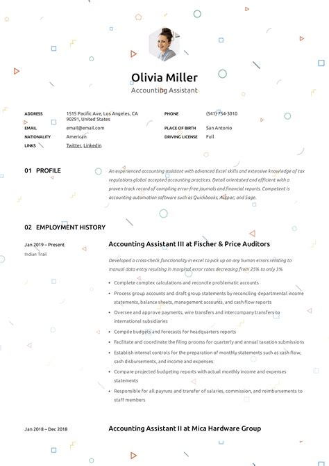account assistant resume sample accounting assistant advice