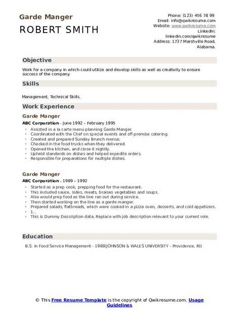 resume tugas executive chef frizzigame sample frizzigame - Executive Chef Resume Template