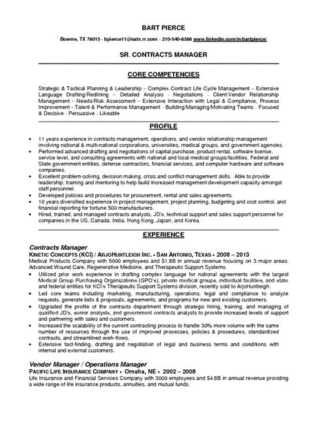 Resume Resume Example For Contract Manager sample resume of risk manager combination template word contract one legal resume