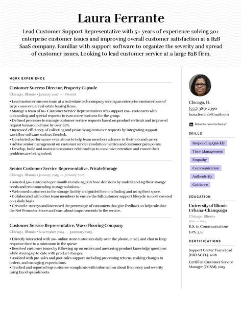 Sample Resume Objectives Customer Service Customer Service Representatives Objectives Livecareer