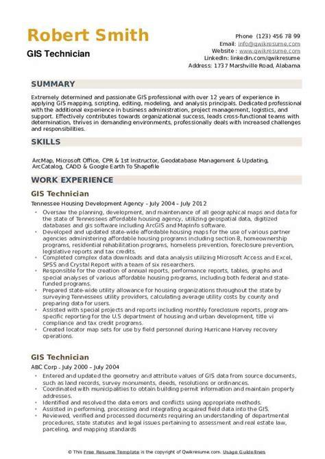 gis resume sample resume cv cover letter