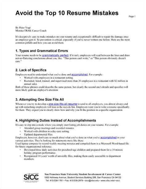 Sample Resume For Job Hopper How To Avoid Looking Like A Job Hopper On Your Resume