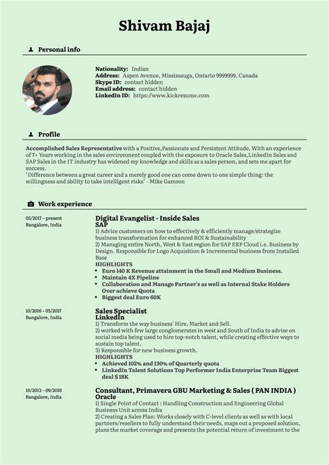 Sample Resume Inside Sales Manager Inside Sales Manager Resume Samples Jobhero