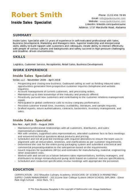 outside sales job description