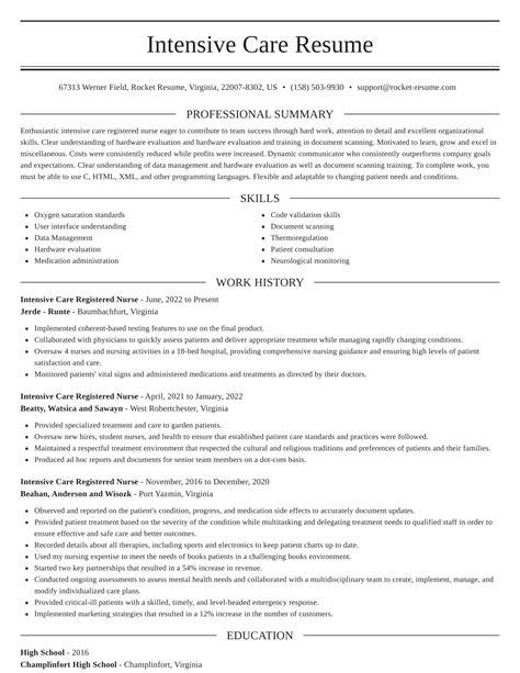 sample resume for coronary care unit nurse intensive care unit icu nurse job description - Icu Nurse Job Description