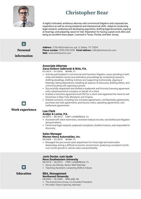 Sample Resume For Legal File Clerk Law Clerk Sample Resume Cvtips