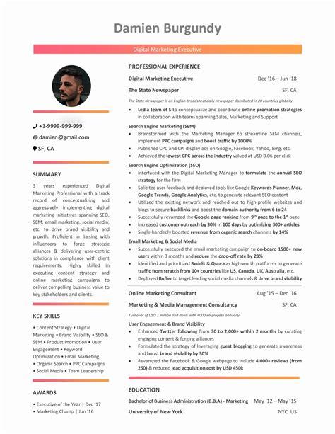 sample resume for entry level marketing marketing resume templates collegegrad - Entry Level Marketing Resume Samples
