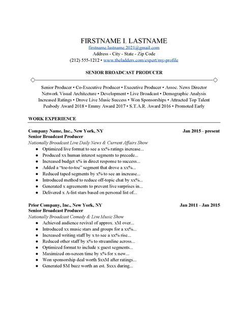 Resume Sample Resume Broadcast Journalist sample resume broadcast journalism free for hotel media broadcasting sample