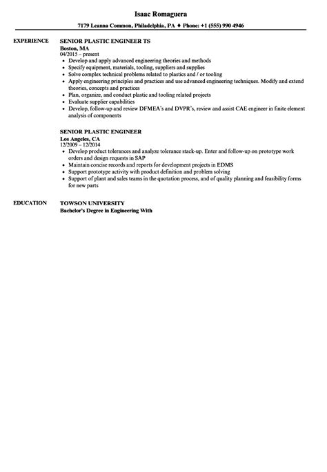 sample resume for quality engineer in fabrication plastic engineer resume example best sample resume - Plastic Engineer Sample Resume