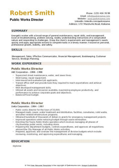 Sample Resume Labourer Position Public Worker Resume Sample Livecareer