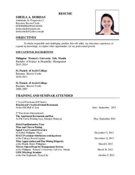 Sample Resume Of Sap Hr Fresher Resume Sample Updated On Jan 2018 Freshersworld