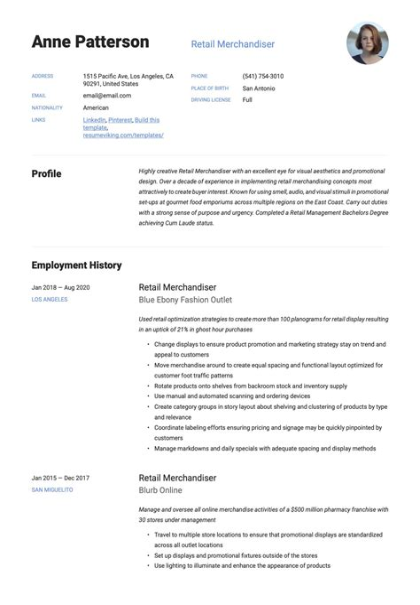 sample resume for retail jobs retail merchandising resume sample two sales resume
