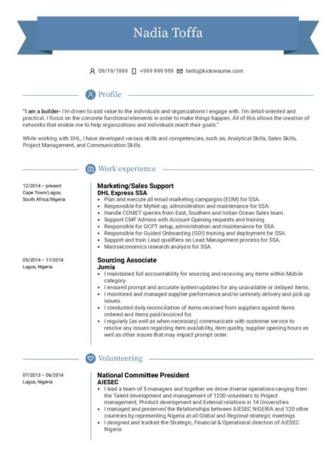 Sample Resume For Sales Support Executive Sales Support Resume Sample Sales Resumes Livecareer
