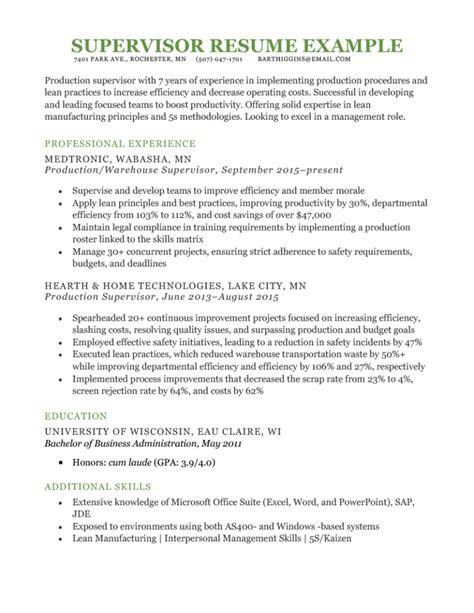 Sample Resume Cover Letter In Response To A Job Advertisement Sample Supervisor Cover Letter For Resume