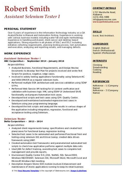 sample resume weblogic administration selenium tester resume software testing g c reddy - Weblogic Administration Sample Resume