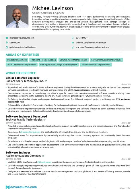 Sample Resume For Ui Developer Software Developer Resume Sample Software Developer
