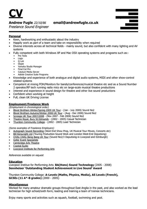 sample resume dsp engineer sound engineer resume sample jobera - Dsp Engineer Sample Resume