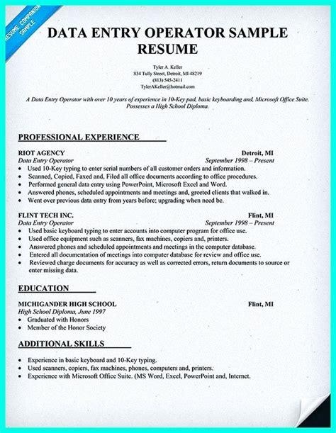 sample resume data entry job description unforgettable data entry clerk resume examples to stand - Data Entry Job Description For Resume