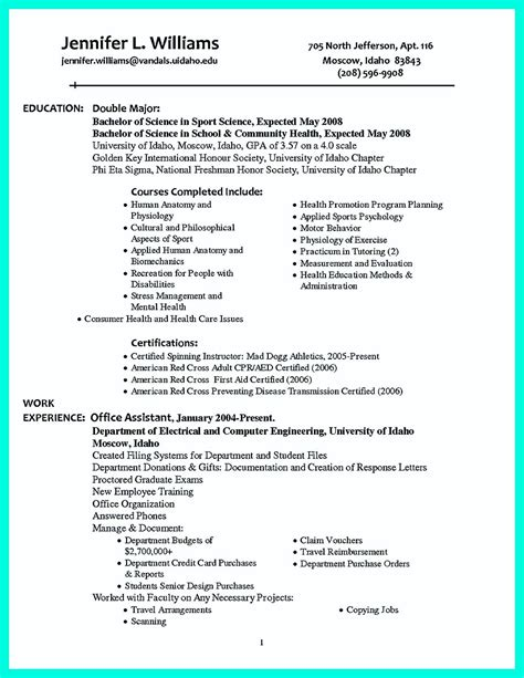 Sample Resumes For University Graduates College Golf Resumes Sample Resume