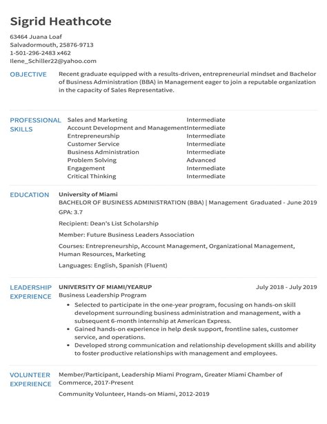 sample sales resume profile resume same job for years