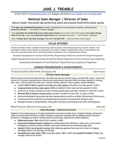 buyer resume accomplishment Sales Manager Resume Examples Resume Badak