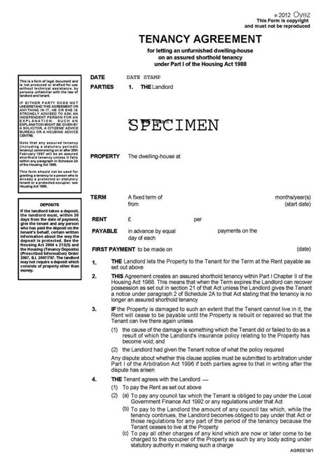 Sample Tenancy Agreement Template Malaysia Public Inquiry Report On Review Of Access Pricing