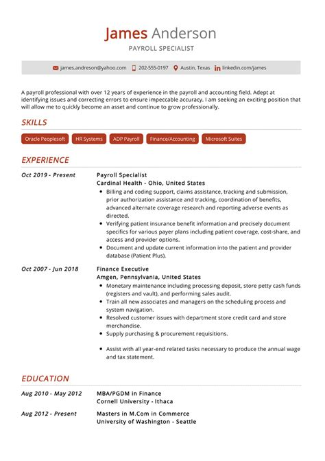 Universal Banker Resume create this cv personal banker resume sample Sample Universal Banker Resume Payroll Specialist Resume Samples Cover Letters And Resume