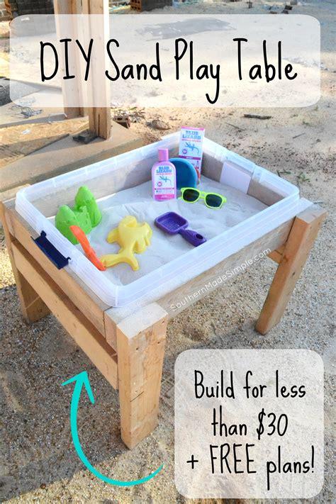 Sand Table Diy