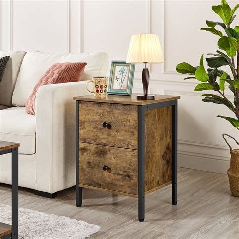Sandara End Table With Storage