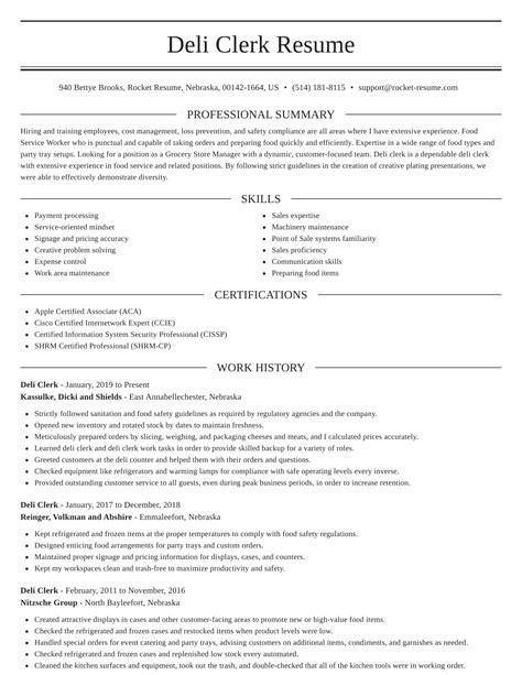 sandwich maker resume example deli clerk resume example best sample resume sandwich maker resume - Sandwich Maker Resume