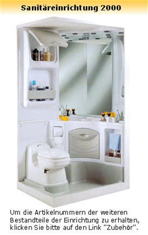 Sanitäreinrichtung Für Wohnwagen