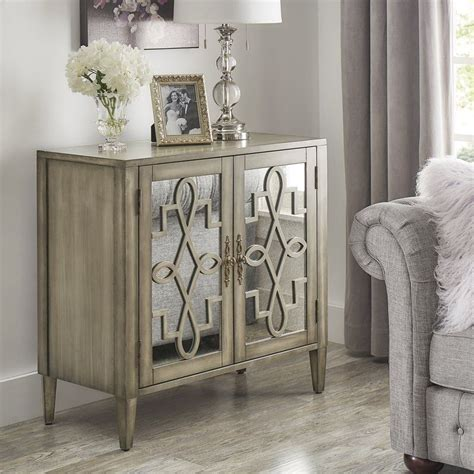Sanna 2 Door Mirrored Cabinet
